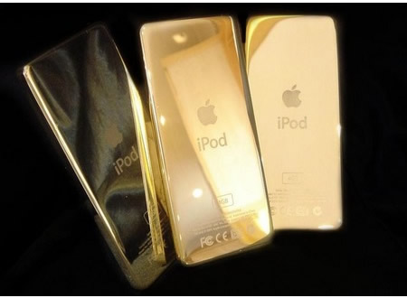 Un ipod Apple or 24 carats