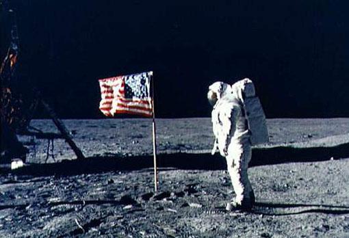 Neil Armstrong sur la Lune