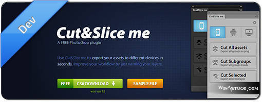 Cut&Slice Photoshop Plugin