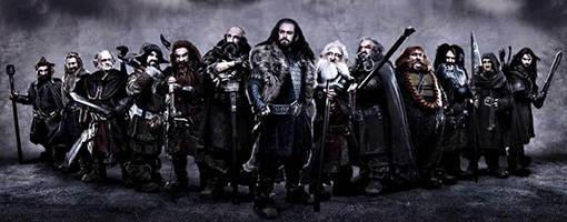 bilbo le hobbit et les nains