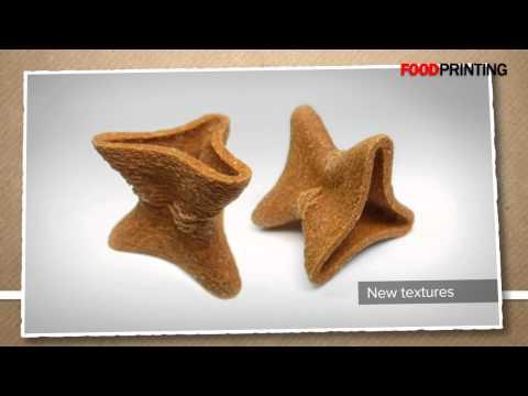 L'imprimante 3D alimentaire