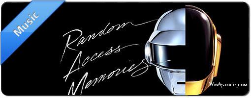 Daft Punk – Random Access Memories en écoute gratuite