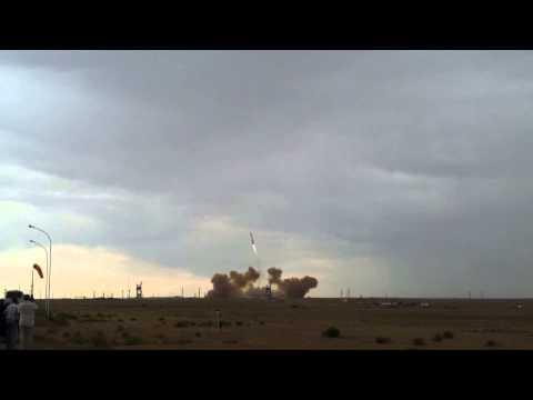 Crash d'une fusée russe Proton-M