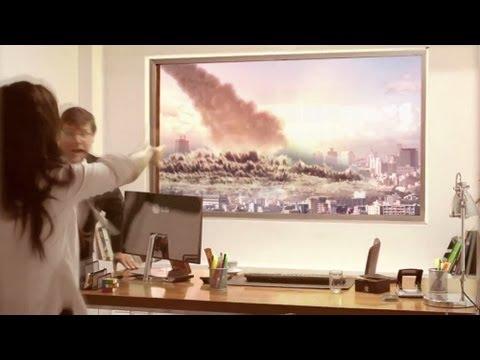 Ecran TV 4K Ultra réalité selon LG