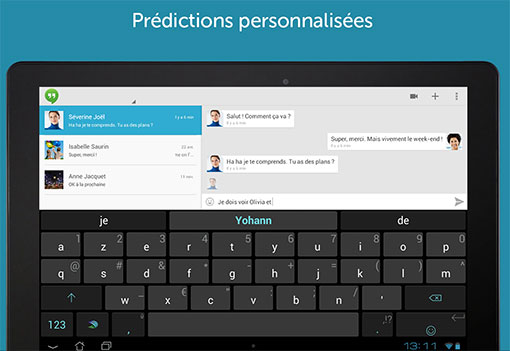 SwiftKey - Outil de prédiction