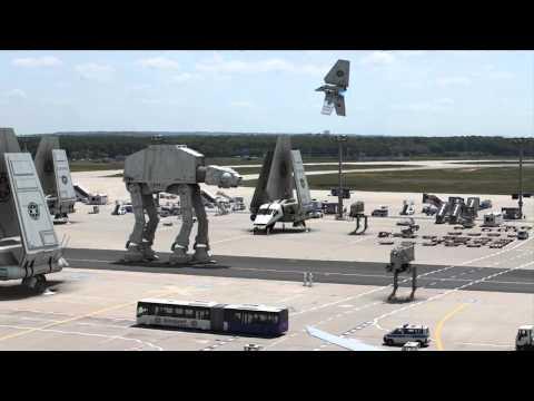 Star Wars débarque à l'aéroport de Francfort