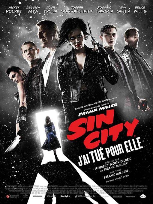Affiche Sin City 2