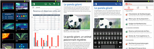 Microsoft office gratuit t l chargement pour android ios - Office tablette android gratuit ...
