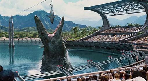 Le parc Jurassic World
