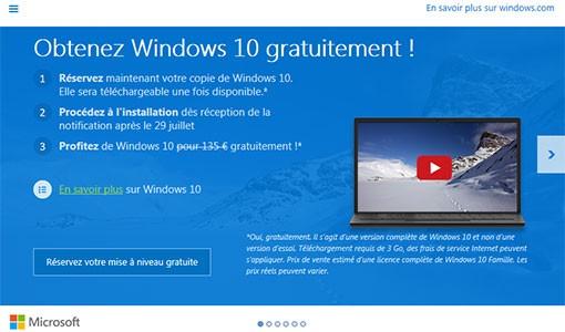 Notification Windows 10