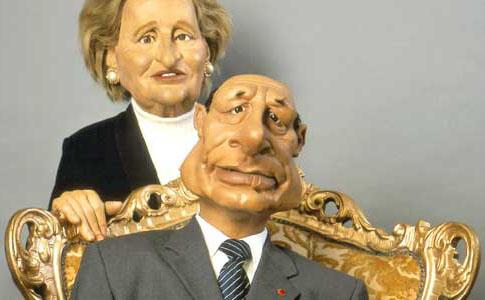 Bernadette et Jacques Chirac