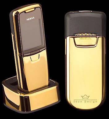Un Nokia en or