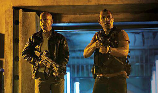 John McClane et Junior