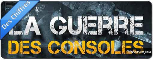 La guerre des consoles et jeux video
