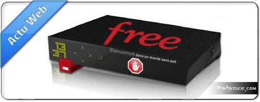 Votre Freebox bloque les publicités