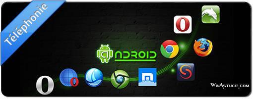 Top 10 des meilleurs navigateurs Android