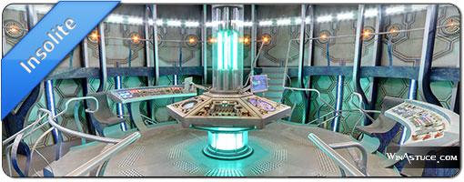 On a retrouvé le TARDIS de Dr Who dans Google Maps