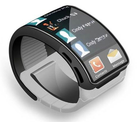 Montre intelligente Croquis Samsung Galaxy Gear