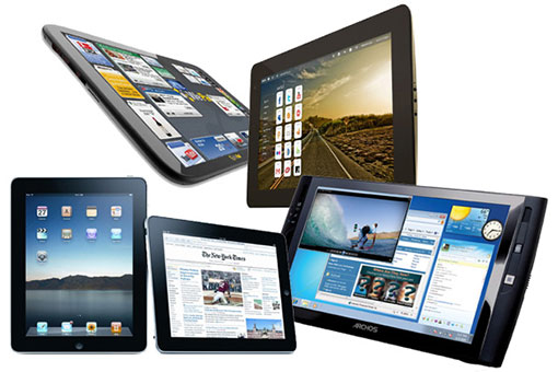 Comparatif tablette tactile 2013