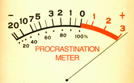 Jauge de procrastination