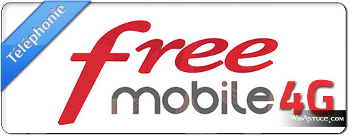 Forfait 4G Free Mobile low-cost à 19,99 €