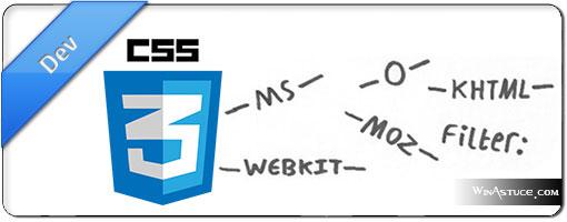 8 adresses pour automatiser la création de préfix CSS3