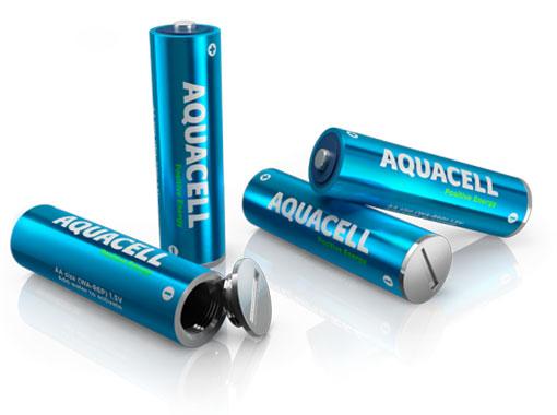 Aquacell - Une pile écologique qui se recharge à l'eau
