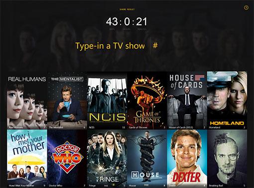 Temps perdu à regarder des séries tv
