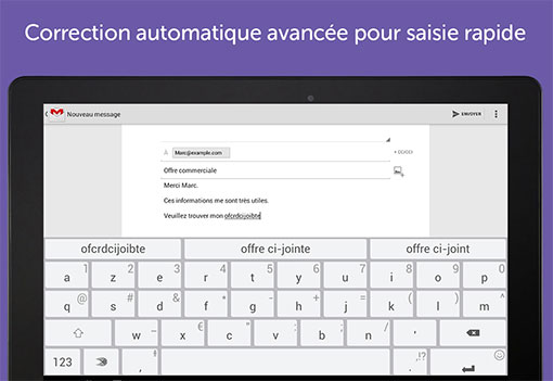 SwiftKey - Outil de correction