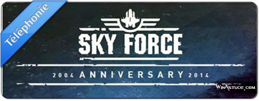 Sky Force 2014 – Le retour du shoot'em up
