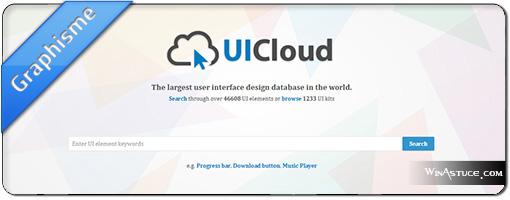 UICloud – LE moteur de recherche de ressources graphiques