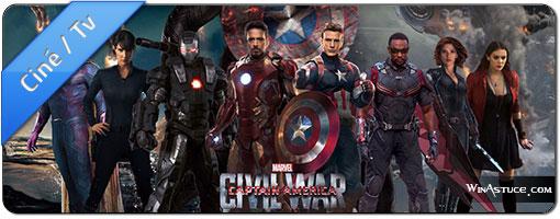 Captain America CIVIL WAR en 2 bandes annonces HD